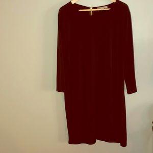 Michael Kors black shift dress